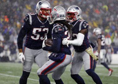 New England Patriots Stephon Gilmore